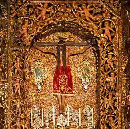 Capilla del Santo Cristo, en la Catedral de Ourense
