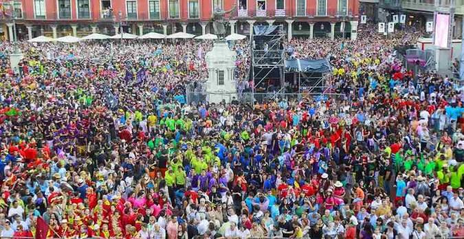 Fiestas de la Virgen de San Lorenzo, en Valladolid