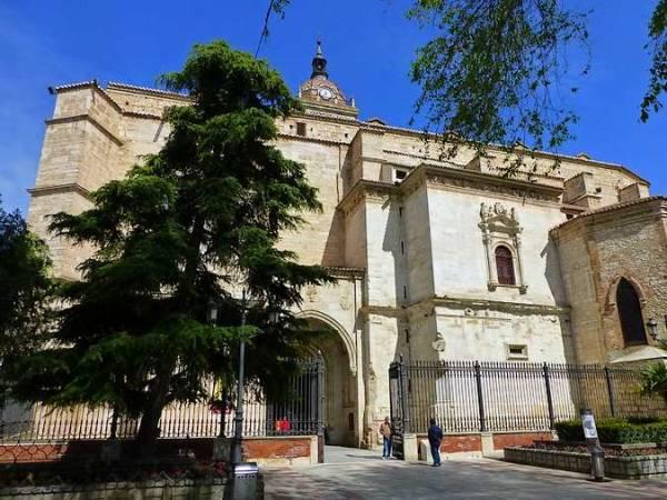 Catedral de Santa María del Prado, en Ciudad Real