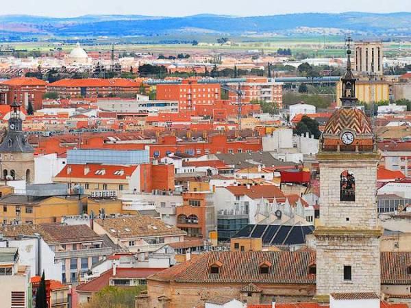 Vista panorámica de Ciudad Real