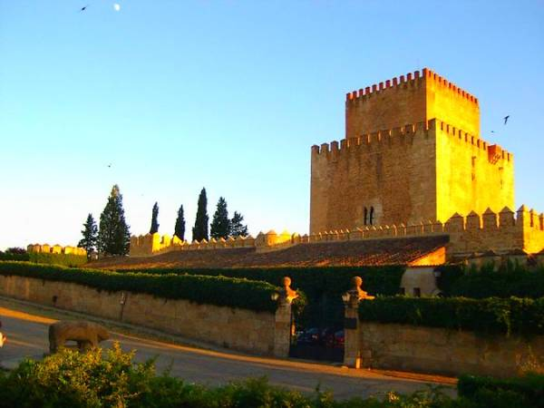 Castillo de Enrique II, en Ciudad Rodrigo, Salamanca