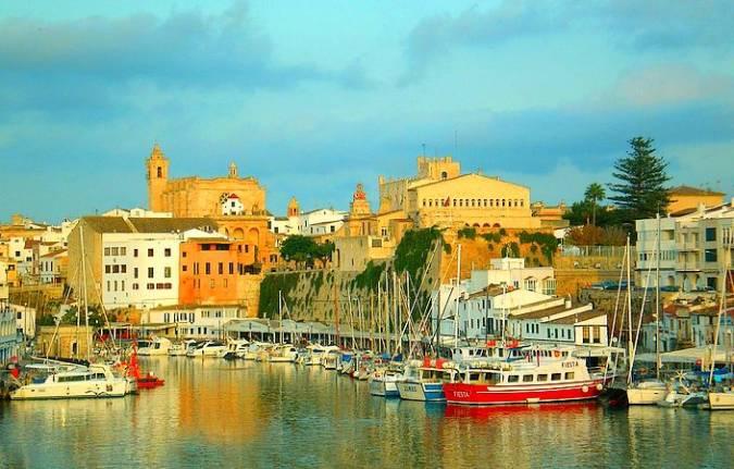 Ciudadela, en Menorca