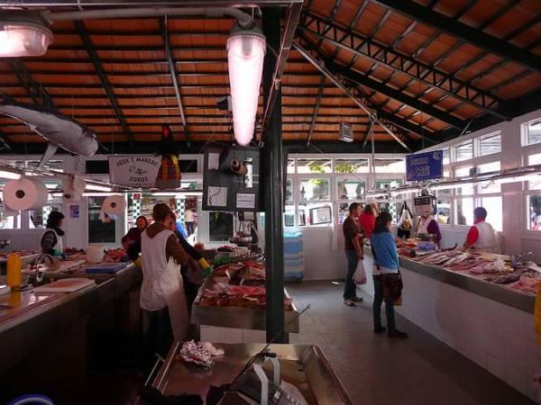 Mercado de Ciudadela, en Menorca
