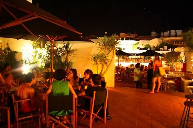 Discoteca Jazzbah, en Ciudadela, Menorca