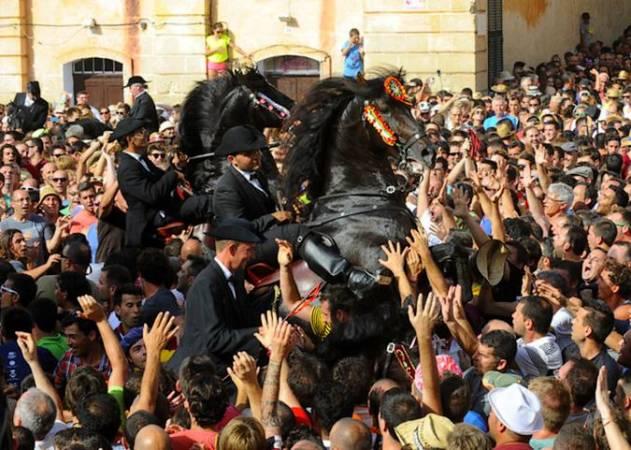 Fiestas de Sant Joan en Ciudadela, Menorca