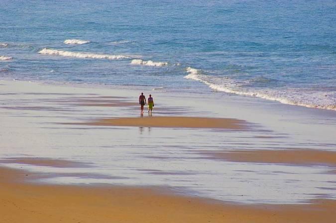 Playa de los Bateles, en Conil de la Frontera, Cádiz
