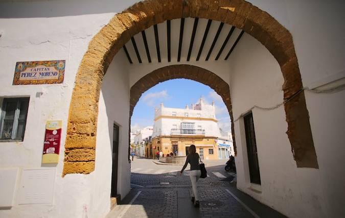 Puerta de la Villa, en Conil de la Frontera, Cádiz