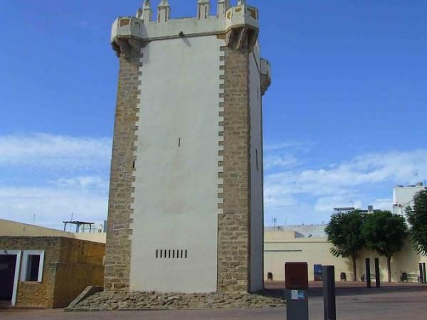 Torre de Guzmán, en Conil de la Frontera, Cádiz