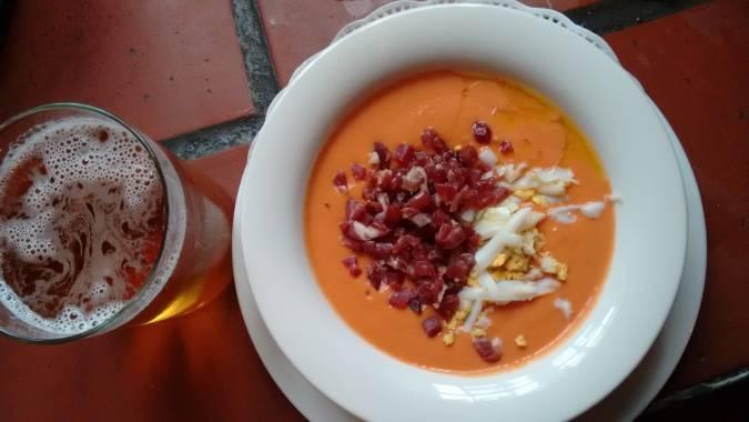 Salmorejo, plato tradicional cordobés