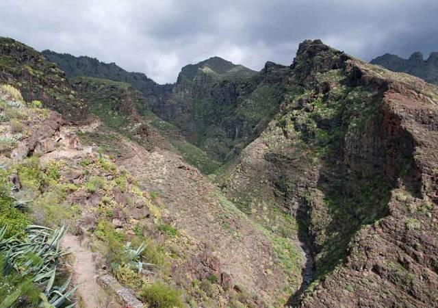 Barranco del Infierno, en Costa Adeje, Tenerife