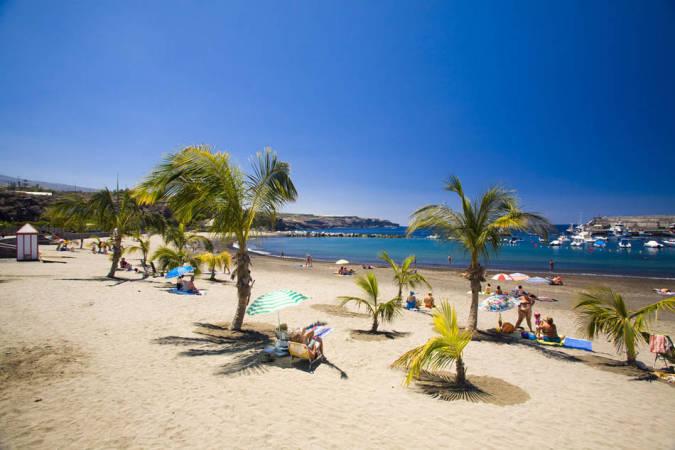 Playa del Duque, en Costa Adeje, Tenerife