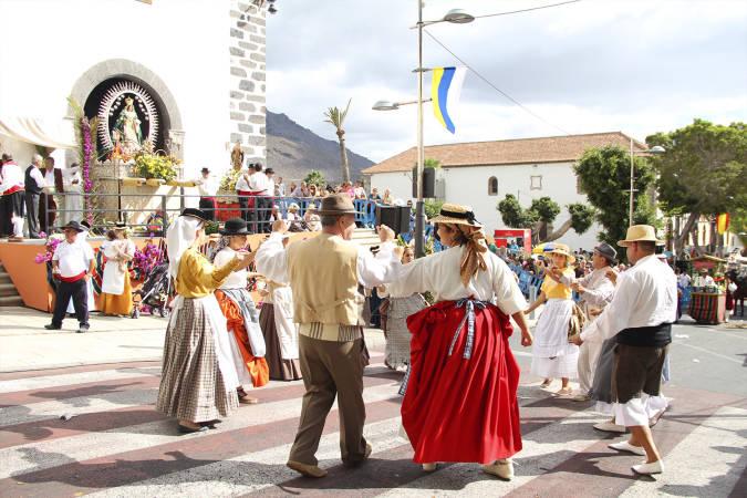 Romería en Costa Adeje, Tenerife