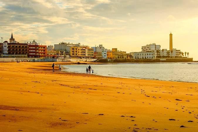 La localidad de Chipiona, en Cádiz