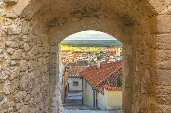 La localidad de Cuéllar, en Segovia