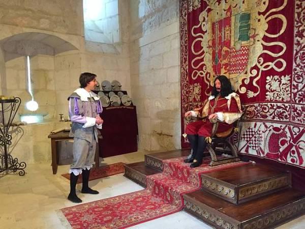 Visitas teatralizadas al Castillo de Cuéllar, en Segovia