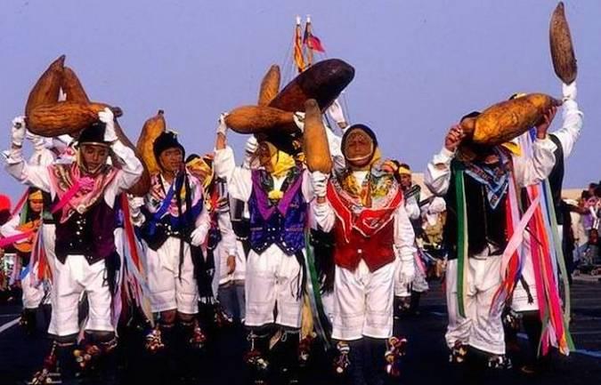 Parranda de Los Buches del Carnaval de Arrecife, en Lanzarote