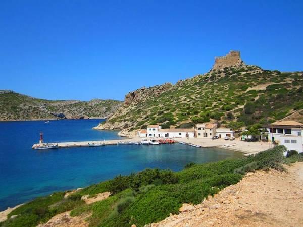 La isla de Cabrera, en las Islas Baleares