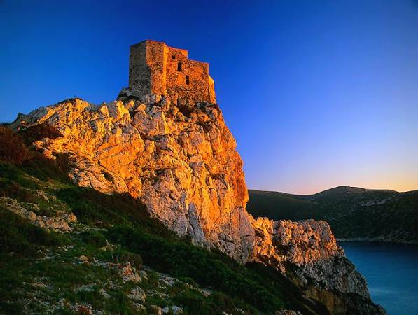 Castillo de la isla de Cabrera