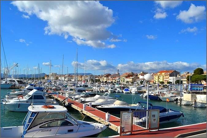 Puerto Deportivo de Cambrils, en Tarragona