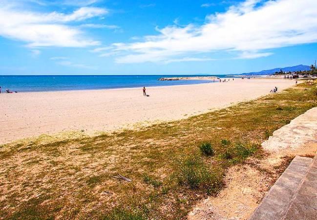 Playa de la Llosa, en Cambrils, Tarragona