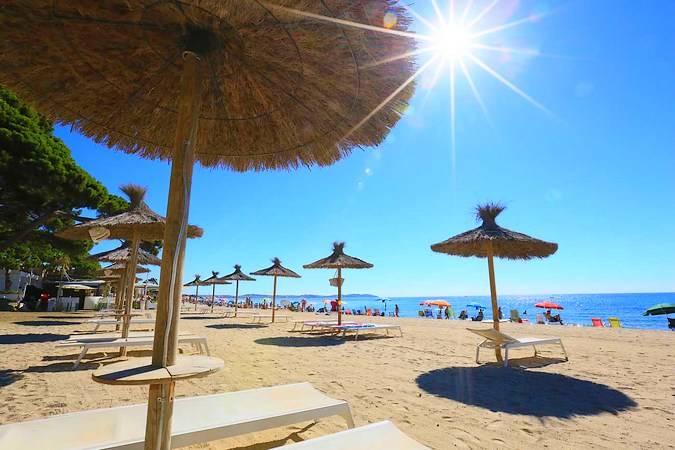 Playa del Esquirol, en Cambrils, Tarragona