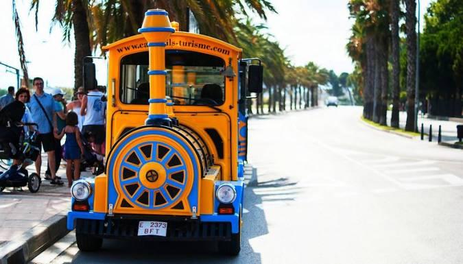 Tren turístico de Cambrils, en Tarragona