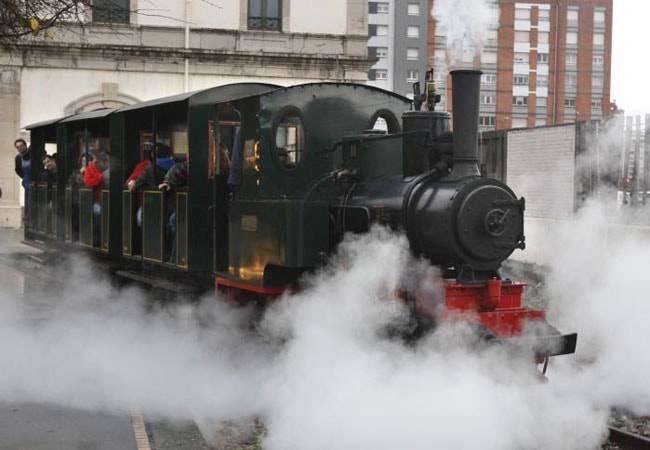 El Museo del Ferrocarril en Gijón