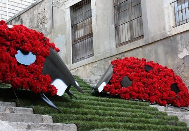 Fiesta de las Flores en Girona