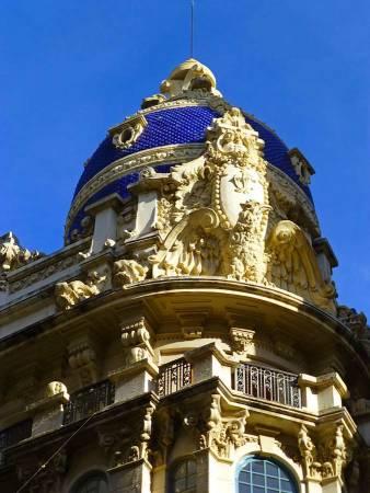 Cúpula de la Casa Cabot Jubany, en Albacete