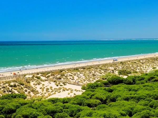 Playa de Punta Umbría, en Huelva
