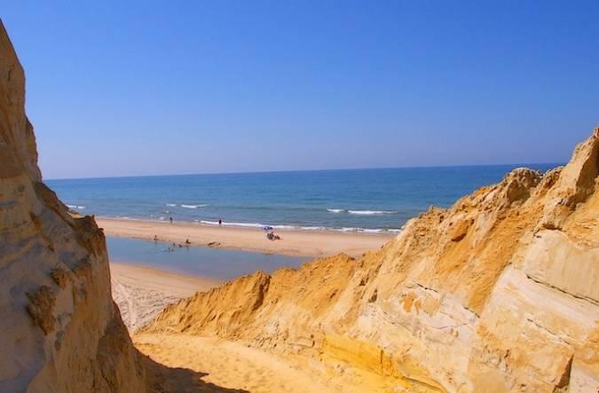Playa de Mazagón, en Huelva