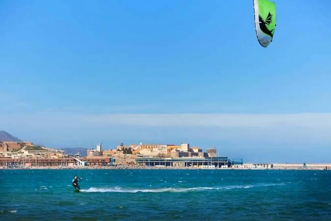 Kite-surf en Melilla