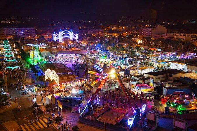Feria de Melilla, en honor de la Virgen de la Victoria