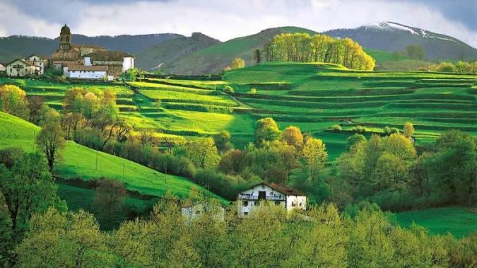 Valle de Baztán, en Navarra