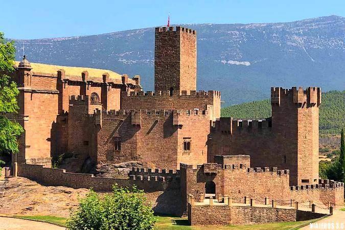 Castillo de Javier, en Navarra