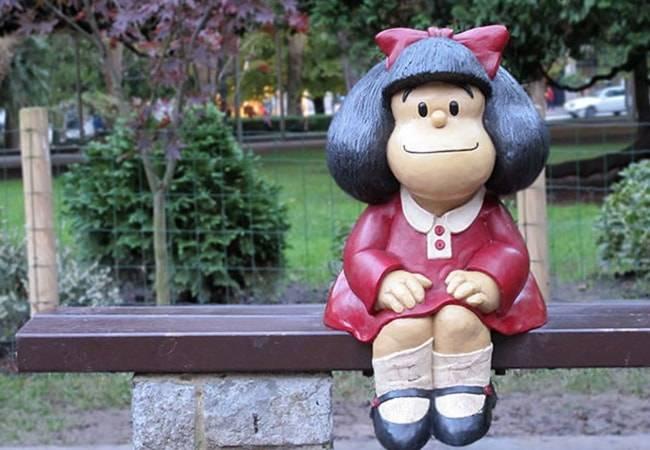 Mafalda en el Campo San Francisco