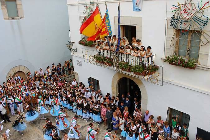 Fiestas de la Virgen de la Ermitana, en Peñíscola
