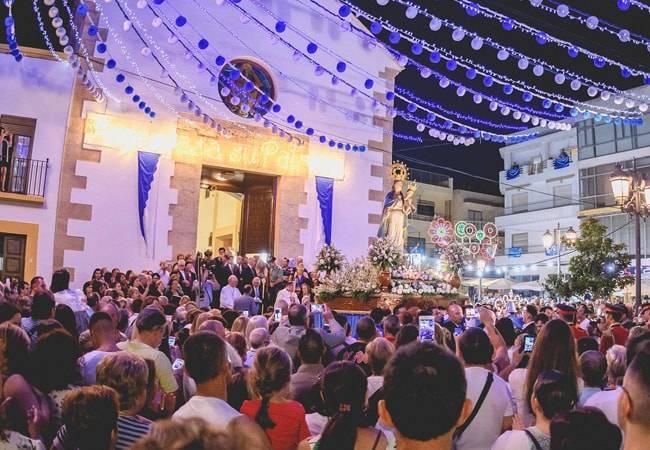 Fiestas del Rosario en Roquetas