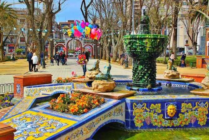 Jardines del Prado, en Talavera de la Reina