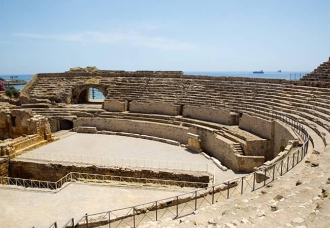 Anfiteatro romano en Tarragona