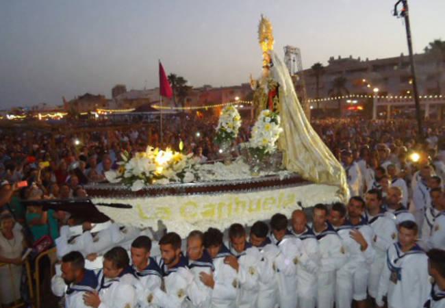 Fiesta del Carmen en Torremolinos