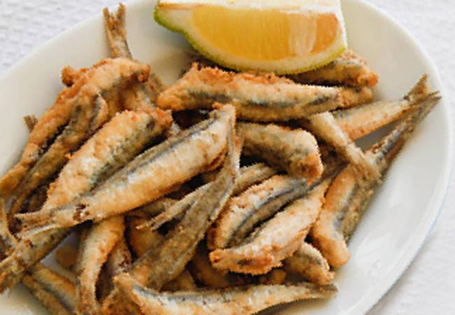 Pescaíto frito en Torremolinos