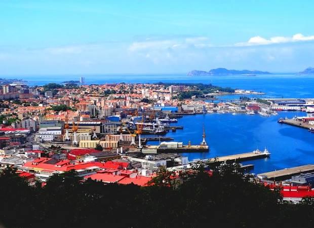 La ciudad de Vigo y su ría