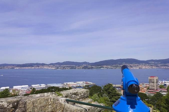 Mirado del Monte do Castro, en Vigo