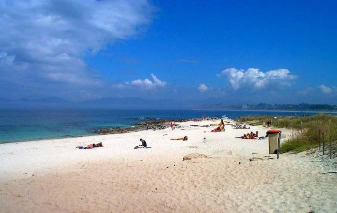 Playa de O Baluarte, en Vigo