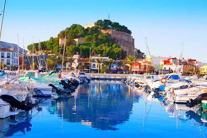 Puerto deportivo de Denia, en Alicante