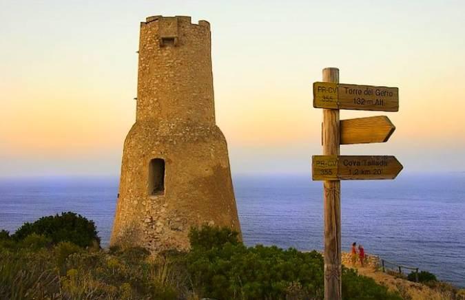 Torre del Gerro, en Denia, Alicante