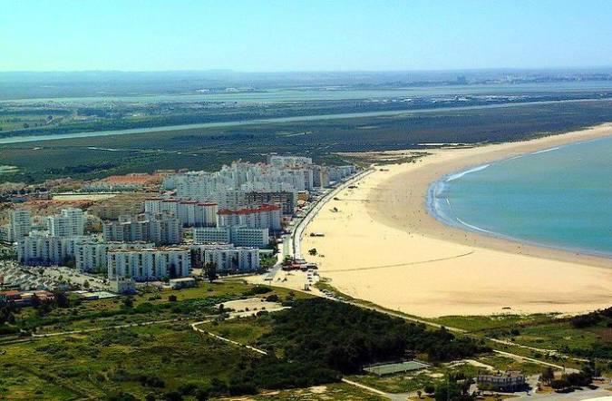 Playa de Valdelagrana, en El Puerto de Santa María