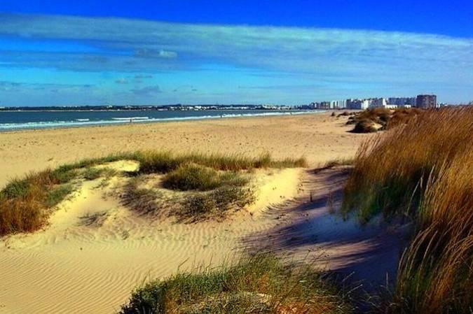 Playa de Levante, en El Puerto de Santa María
