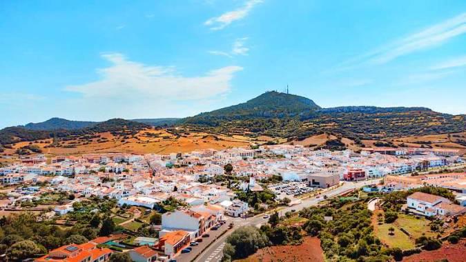 Es Mercadal, en Menorca